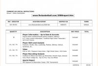 Scouting Report Basketball Template Awesome Basketball Scouting Report Example Template Sheet Printable Simple