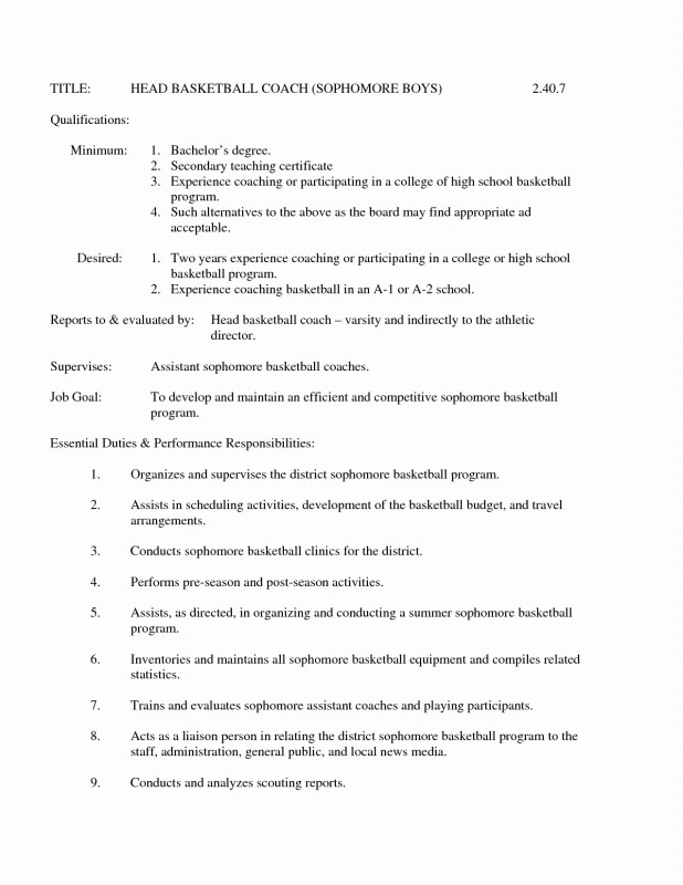 Scouting Report Template Basketball Awesome Example Resume for High School Basketball Coach Luxury Photos soccer
