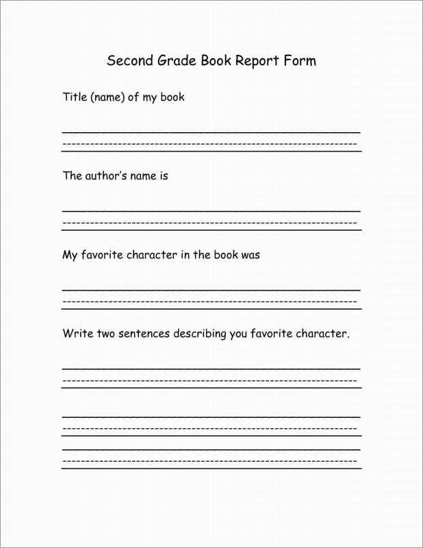 Second Grade Book Report Template New Inspirational 2nd Grade Book Report Template Free Best Of Template
