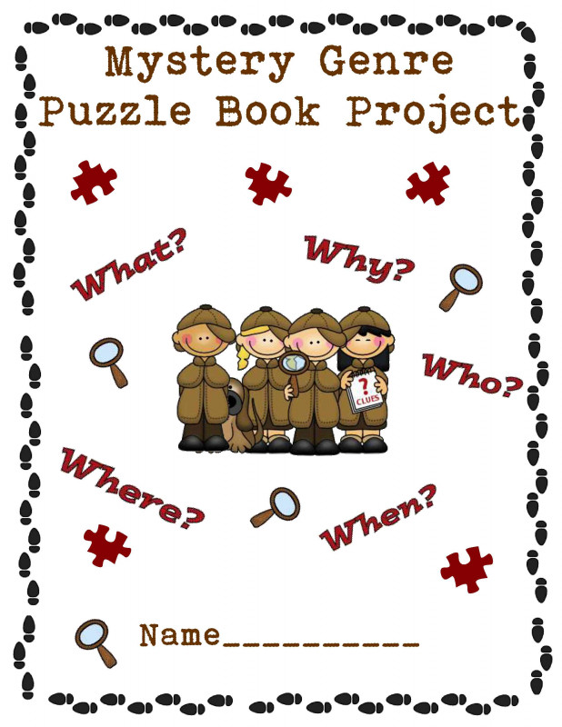 Second Grade Book Report Template Unique My Giant Jigsaw Puzzle Book Project Scholastic