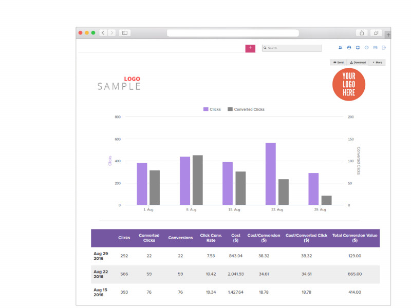 Seo Monthly Report Template Awesome Digital Marketing Report Xample Reportgarden Campaign Research