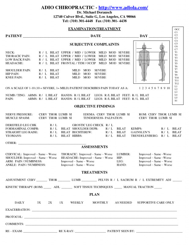 Soap Report Template Awesome Chiropractic Progress Report Template form soap Notes Cv Ajan Ciceros Co