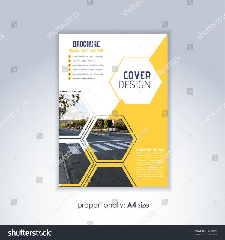 Soccer Report Card Template Unique Corporate Leaflet Textbook Cover Image Add Stock Vektorgrafik