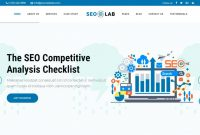 Social Media Marketing Report Template Professional Digital Marketing Agency Website Template Big Screenshot Free