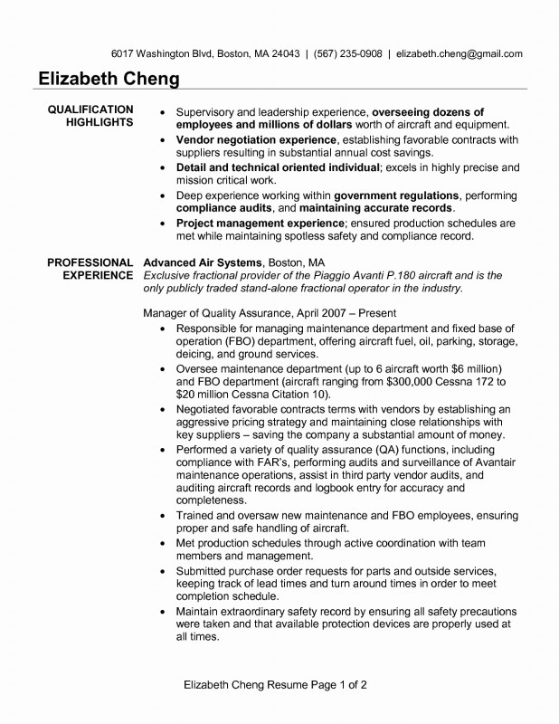 Software Quality assurance Report Template Awesome 96 Quality Resume Template Automotive Quality Engineer Sample