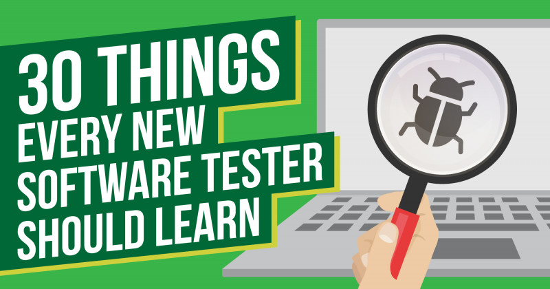 Software Testing Weekly Status Report Template New 30 Things Every New Software Tester Should Learn Mot