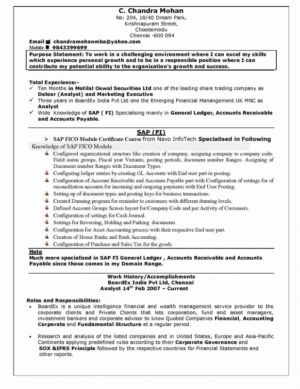 Stock Analyst Report Template New 76 Awesome Images Of Best Mba Resume Examples Sample Resume Format