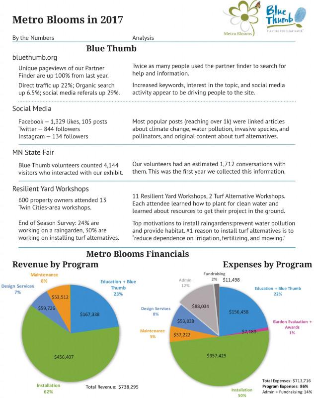 Summary Annual Report Template Unique Publications Metro Blooms