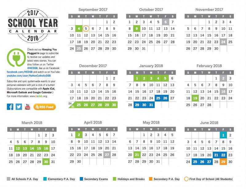 Summer School Progress Report Template Awesome 2017 2018 School Year Calendar