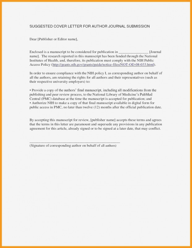 Technical Report Latex Template Unique Cover Letter For Every Journal Submission Complete Resume Templates