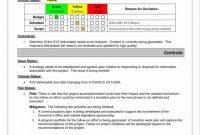 Technical Service Report Template Professional Business Progress Report Template Caquetapositivo