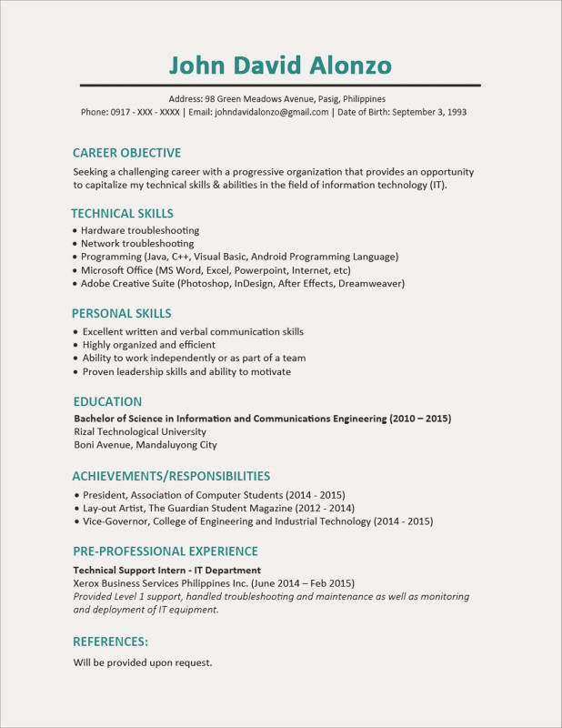 Technical Support Report Template Awesome Technical Support Resume Sample Free It Tech Support Resume In Entry