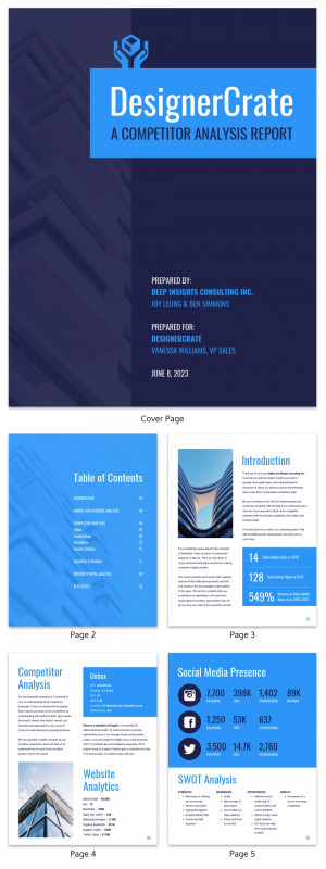 Test Summary Report Template New 19 Consulting Report Templates that Every Consultant Needs Venngage