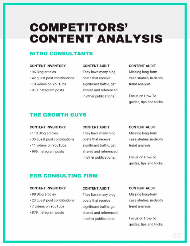 Trend Analysis Report Template Awesome 017 Growth Plan Template Templates Surprising Professional For