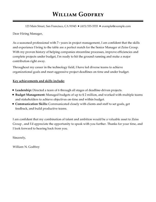 Trend Analysis Report Template Awesome Cover Letter Templates 19 Tips On How to Write the Perfect Cover