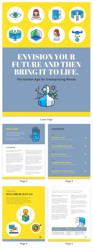Trend Analysis Report Template Professional 19 Consulting Report Templates that Every Consultant Needs Venngage