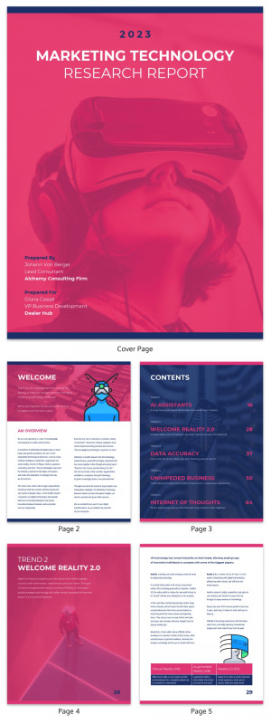 Trend Analysis Report Template Unique 19 Consulting Report Templates That Every Consultant Needs Venngage