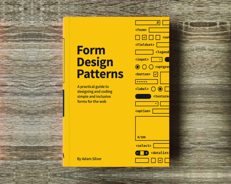 Usability Test Report Template New Meet Form Design Patterns Our New Book On Accessible Web Forms