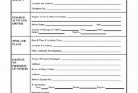 Vehicle Accident Report form Template Awesome Accident Report form Template Uk Radiofama Eu