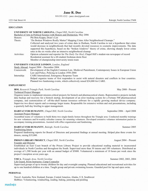 Volunteer Report Template Awesome Resume Samples Hobbies Valid Hobbies and Interests for Resume