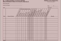 Weekly Activity Report Template Unique Excel Report Templates Ghabon org