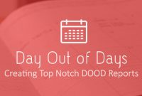 Wrap Up Report Template Awesome Creating A Day Out Of Days Report Free Template Sethero