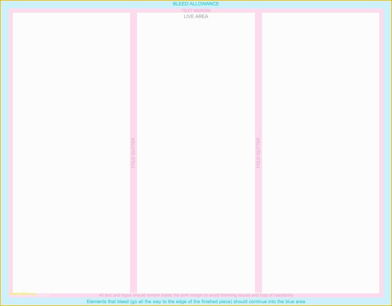 11×17 Brochure Template
