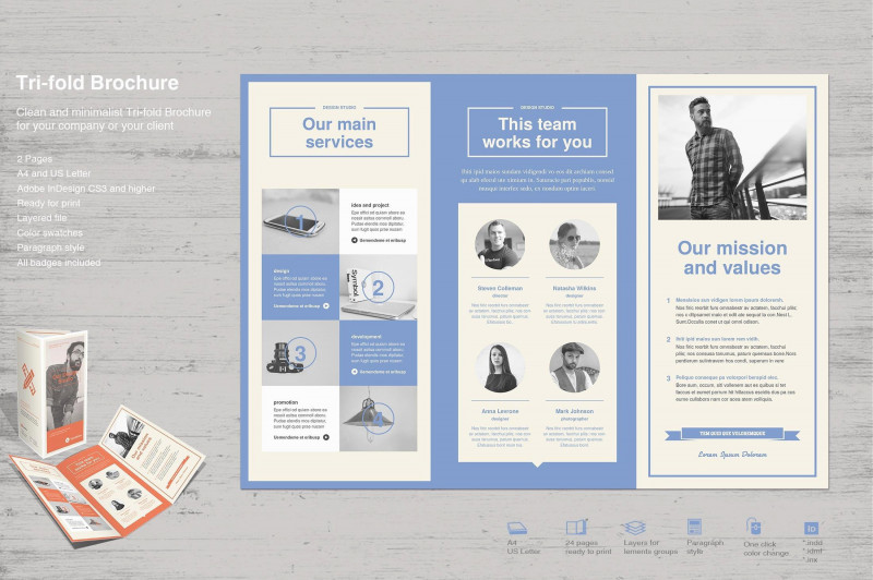 12 Page Brochure Template New 23 Frais Pictures De Microsoft Word Tri Fold Template Exemple D