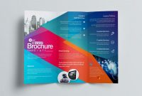 3 Fold Brochure Template Free Awesome Excellent Professional Corporate Tri Fold Brochure Template