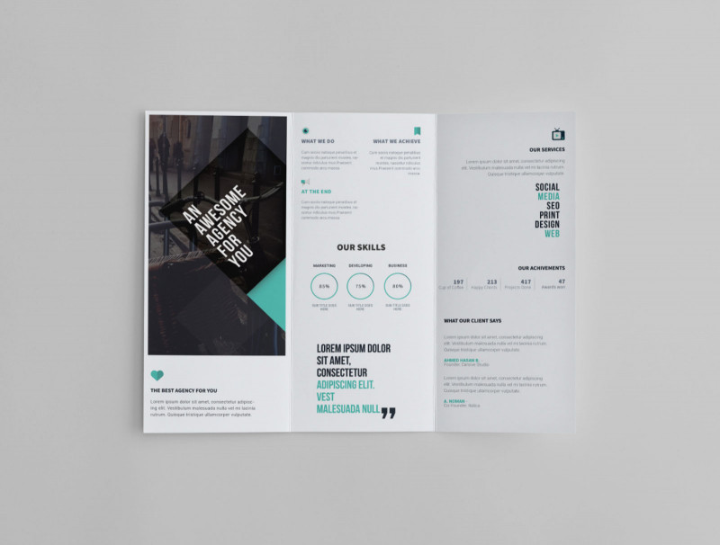 3 Fold Brochure Template Free Download New Free Printable Tri Fold Pamphlet Template 1486