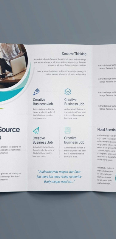 3 Fold Brochure Template Free Unique Commercial Flyers Templates Awesome Free Business Brochure Templates