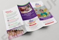 3 Fold Brochure Template Psd Awesome School Tri Fold Brochure Template Eymockup