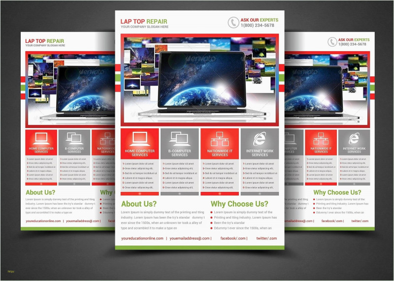 4 Fold Brochure Template Word Awesome Brochure Templates for Word