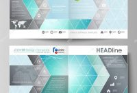 4 Panel Brochure Template Awesome the Vector Illustration Of the Editable Layout Of Two Covers