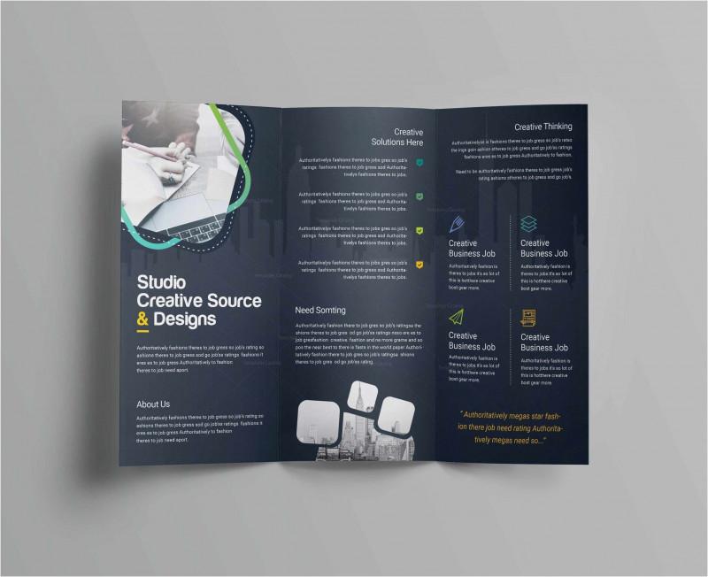6 Panel Brochure Template Unique Free Collection 55 Tri Fold Brochure Template 2019 Free