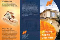 6 Panel Brochure Template Unique Real Estate Tri Fold Brochure Template