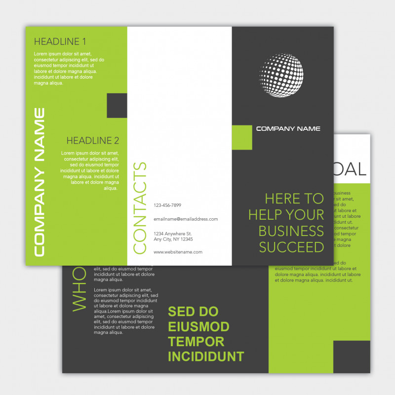 8.5 X11 Brochure Template Awesome Brochures