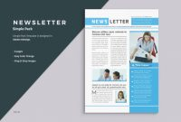 Adobe Illustrator Brochure Templates Free Download Awesome Business Newsletter Template by themedevisers On Creativemarket