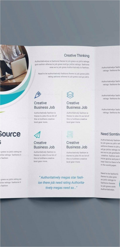 Adobe Illustrator Tri Fold Brochure Template New Blank Tri Fold Brochure Template Mercial Flyers Templates Awesome
