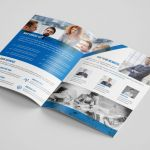 Adobe Illustrator Tri Fold Brochure Template New Corporate Bi Fold Brochure Template by Design Strom thehungryjpeg Com