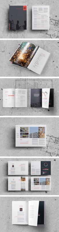 Adobe Indesign Brochure Templates New Free Annual Report Template N Non Profit Adobe Esign Brochure