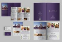 Adobe Indesign Tri Fold Brochure Template New Set Of Brochures Stationery 01 Brochure Templates Creative Market