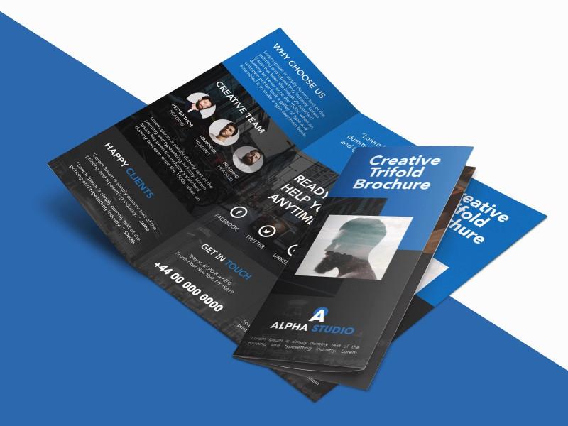 Adobe Indesign Tri Fold Brochure Template Unique Indesign Template Free Brochure Templates Adobe Download Design