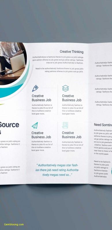 Adobe Indesign Tri Fold Brochure Template Unique Word Tri Fold Brochure Template Beautiful Word Trifold Brochure
