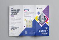 Adobe Tri Fold Brochure Template Awesome Neptune Professional Corporate Tri Fold Brochure Template 001207