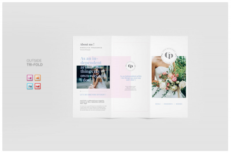 Adobe Tri Fold Brochure Template Awesome Photography Brochure Brochure Templates Creative Market