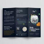 Adobe Tri Fold Brochure Template