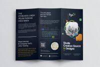 Adobe Tri Fold Brochure Template New Logic Professional Corporate Tri Fold Brochure Template Graphic
