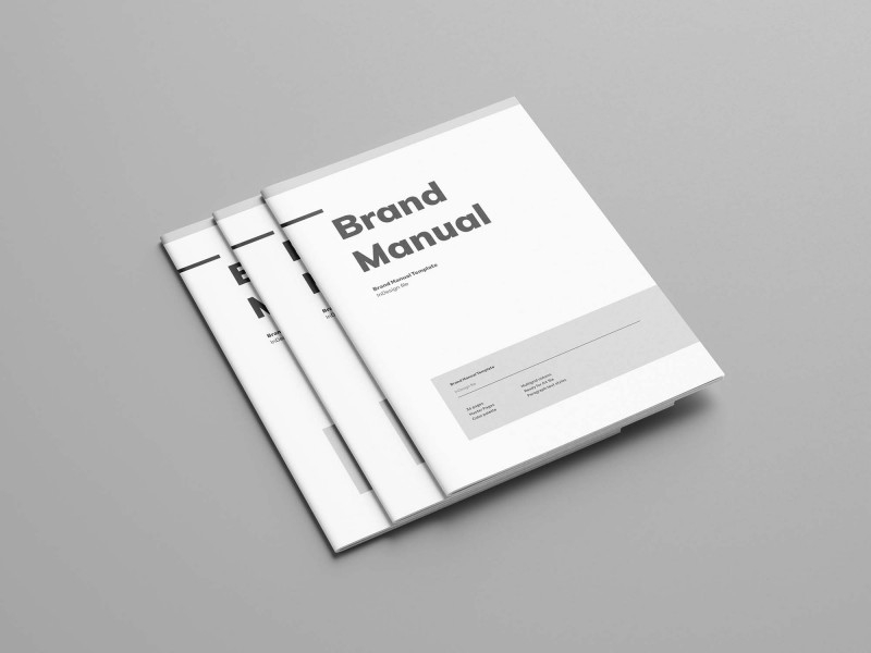 Ai Brochure Templates Free Download Awesome Free Brand Manual Template Indesign