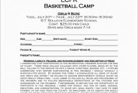 Basketball Camp Brochure Template Unique Beautiful Free Basketball Registration form Template Best Of Template